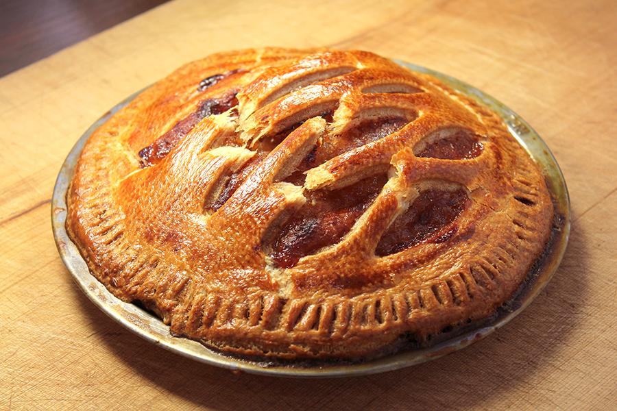 紅玉りんごの手作りアップルパイ