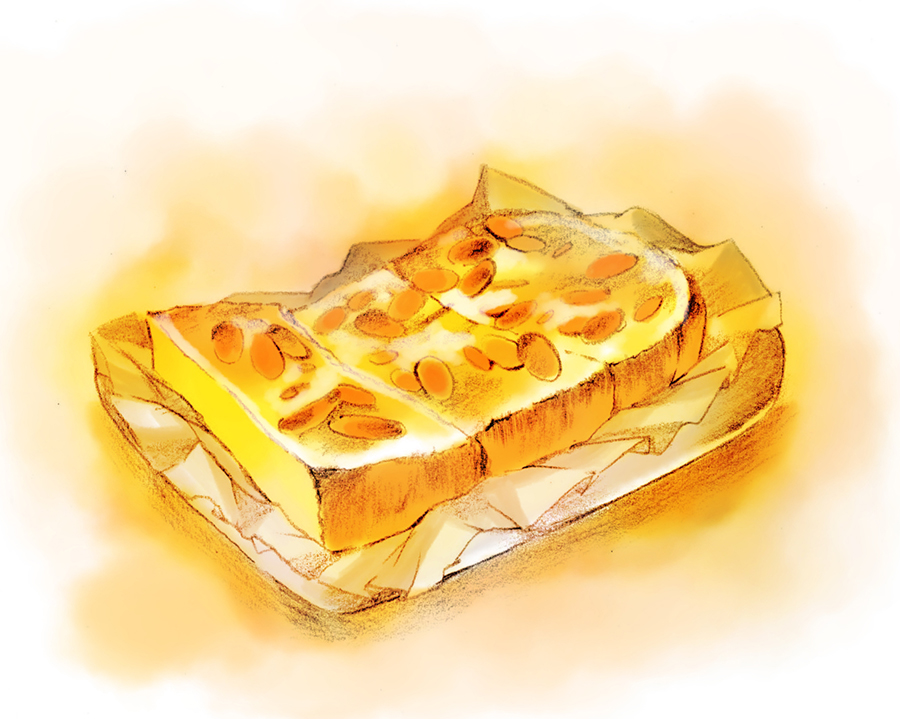 アーモンドトースト