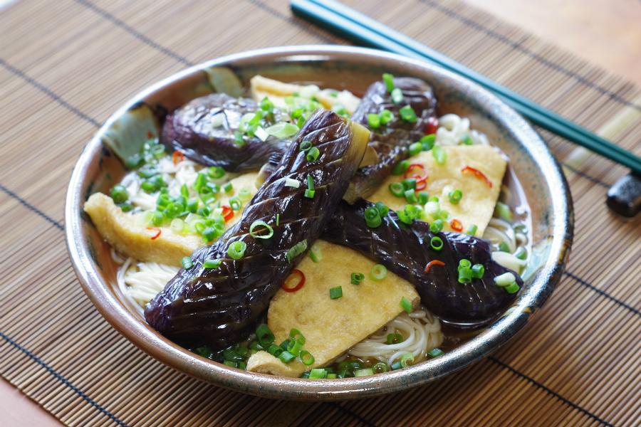 香川の郷土料理「なすそうめん」