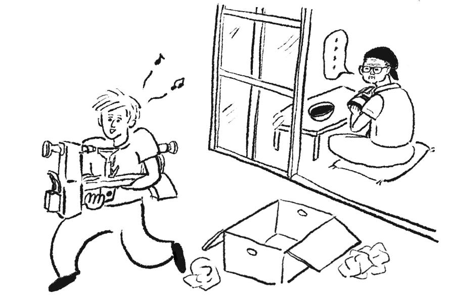 若手職人の絶望日記 第二話「ガンダーラの職人」