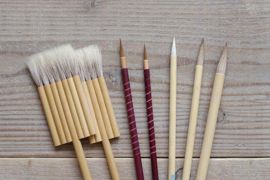 消えゆく日本の伝統筆